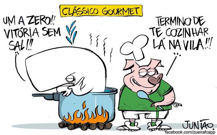 27/04/2015 - Palmeiras vence primeiro duelo contra o Santos e dá o primeiro passo para título do CampeonatoPaulista.